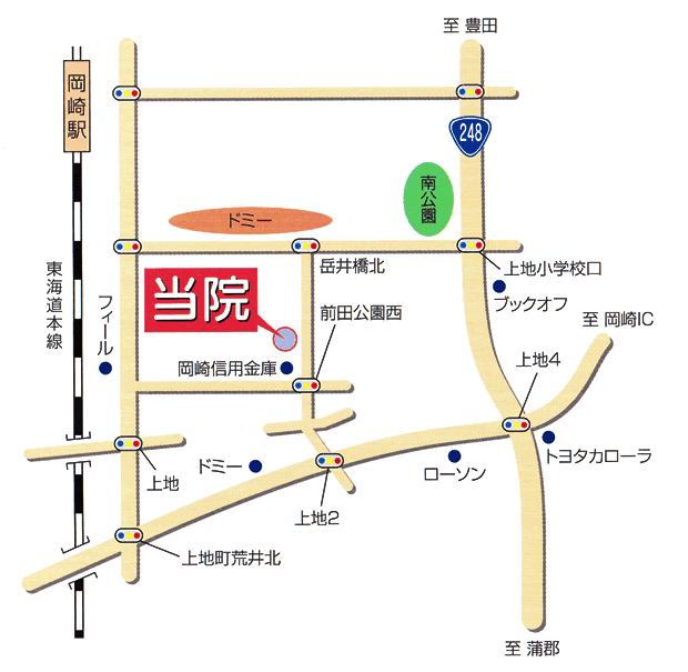 周辺イラスト地図